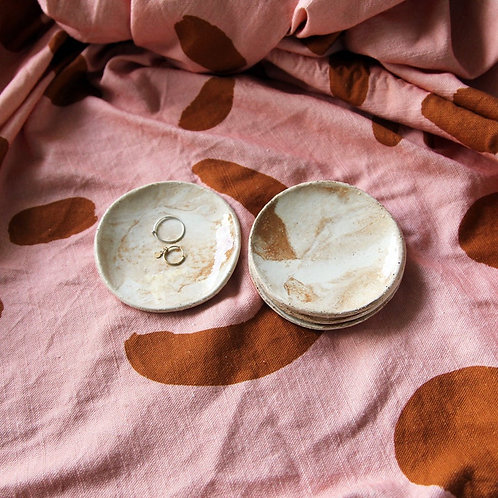Sandy Marble Trinket Dish Set