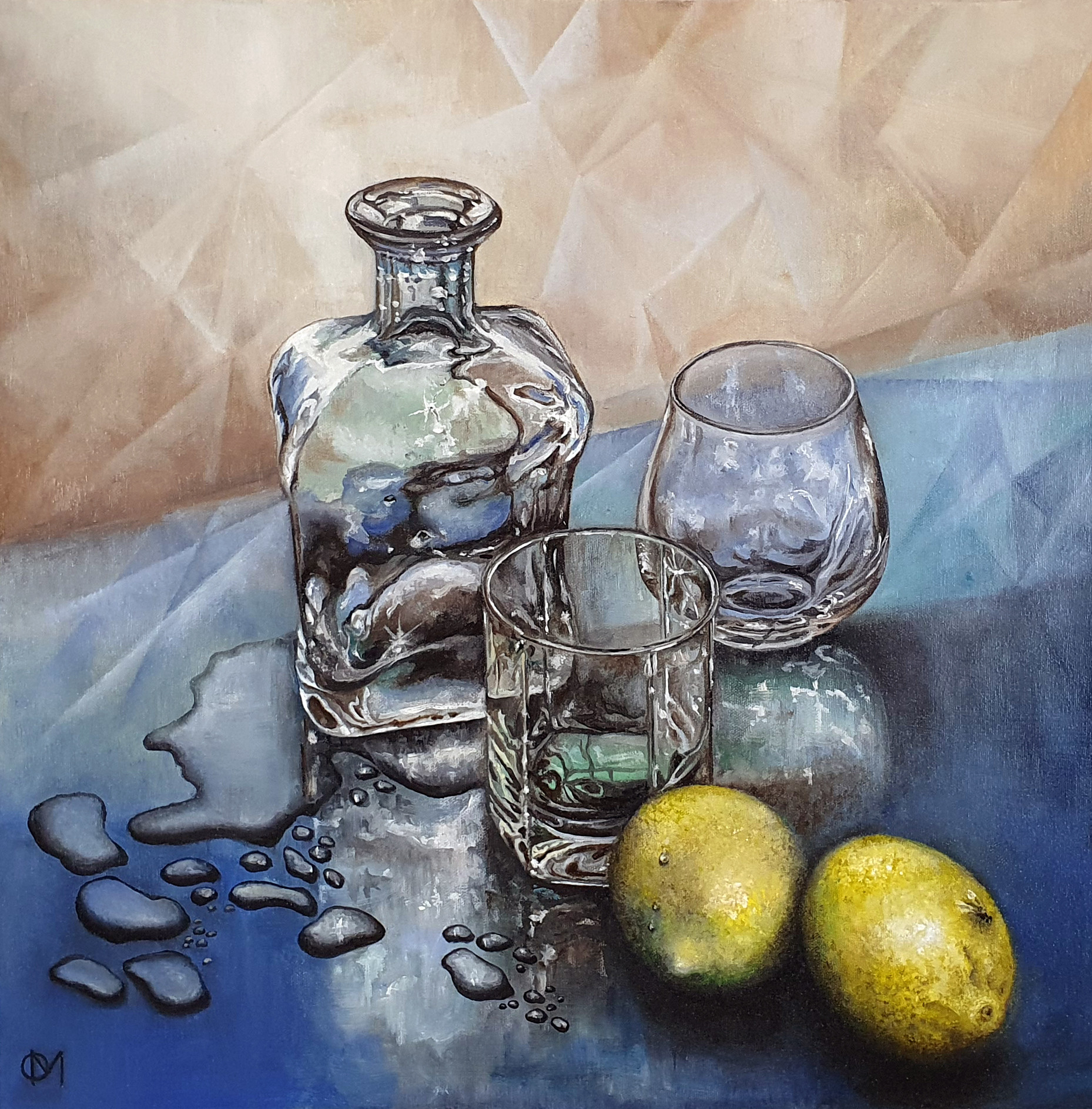 Mama Needs a Drink / Still Life with Lemons