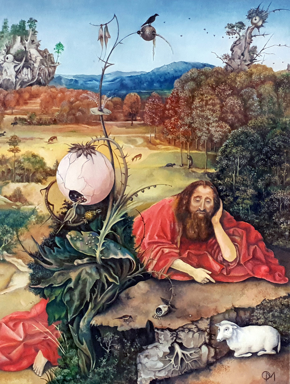 St. John the Baptist in the Wilderness by Hieronymus Bosch