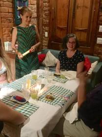 Aula de culinária com jantar sensorial.j