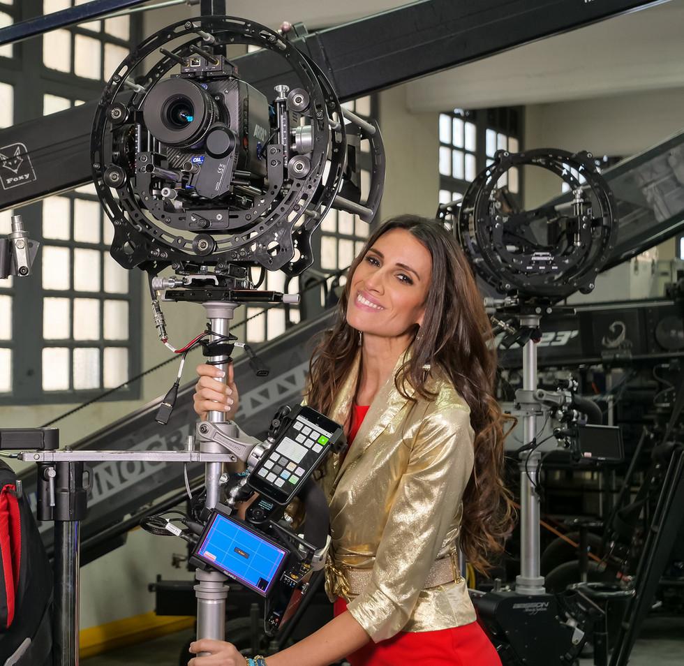Arri alexa mini, hybrid steadycam Endless 3 Basson Steady camera stabilizer