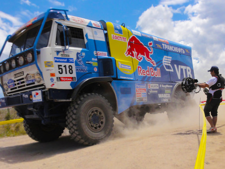 "DSLR video support and rigs, REDBULL ""DAKAR"" EXPERIENCE"