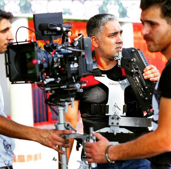 Steadycam Basson Steady with red digital cinema camera