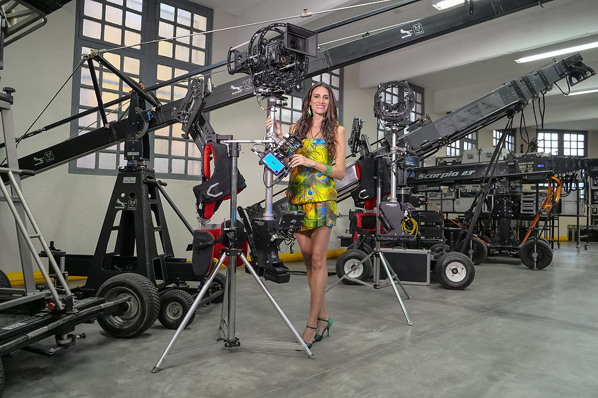 hybrid steadycam endless with red camera
