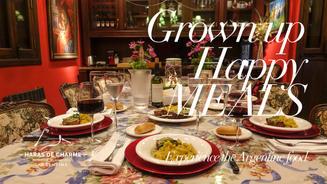 Haras de Charme boutique Hotel, Grown up happy meals
