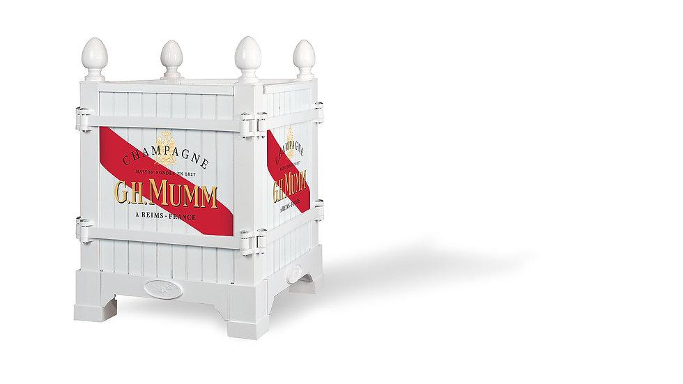 Branding ideas, Blanc, Cordon Rouge, Versailles planter - Planter boxes