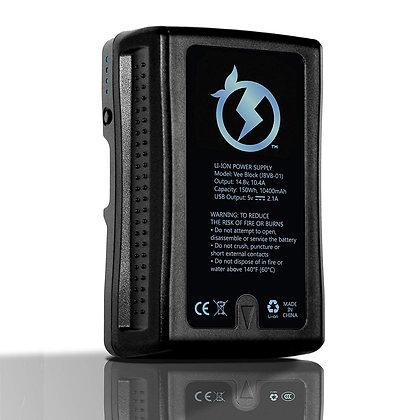 Juicebox V-Mount Battery & Charger (150Wh)