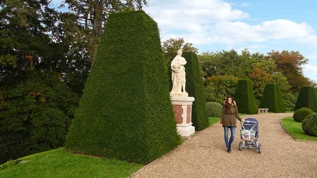 The Château de Breteuil gardens, and Fairy Tales by Charles Perrault