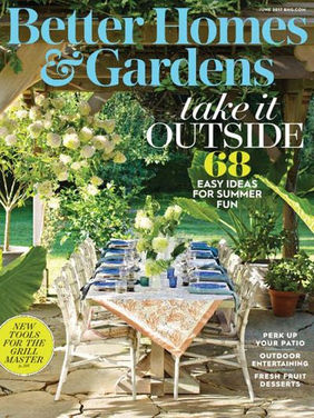 MAGAZINE  Better homes and gardens