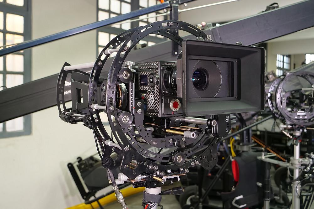 New 8 axis hybrid camera stabilizer Basson Steady model Endless 3 vs arri trinity steadycam with red camera