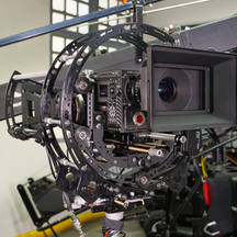 Red digital cinema camera on Hybrid Endless and Infinia from Basson Steady