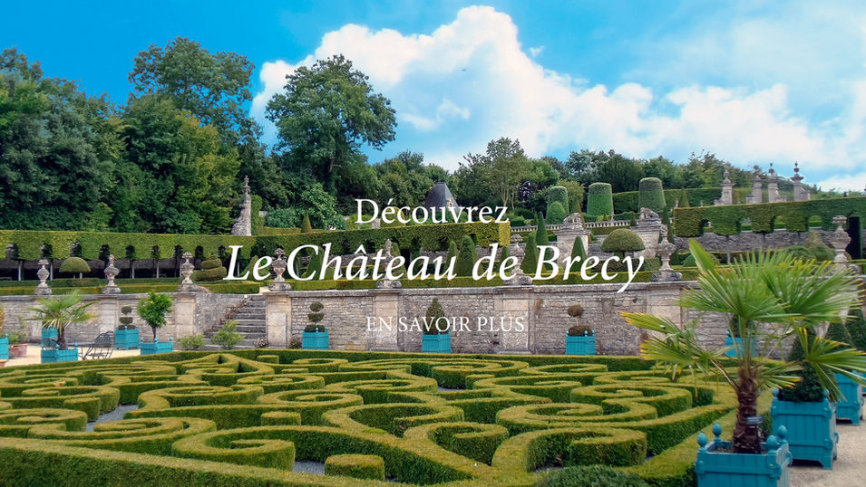 Chateau de Brecy jardins Normandie