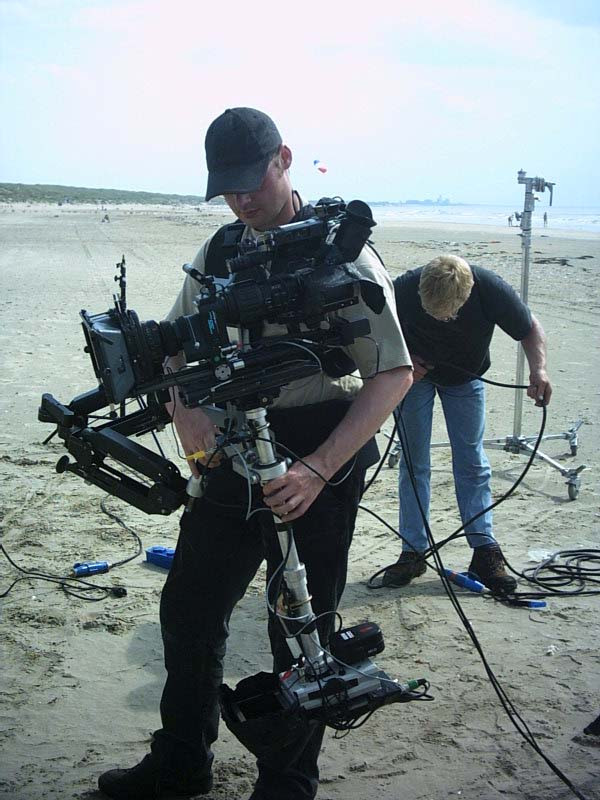 Steadycam Basson Steady with digital cinema camera, customer photo uk