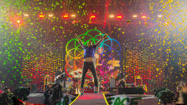 Coldplay en el Estadio unico de la ciudad de La Plata