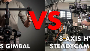 3 axis gimbal vs 8 axis hybrid camera stabilizer gimbal review, best gimbals for filmmakers in 2021