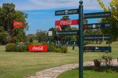 Golf de Ranelagh directions sign