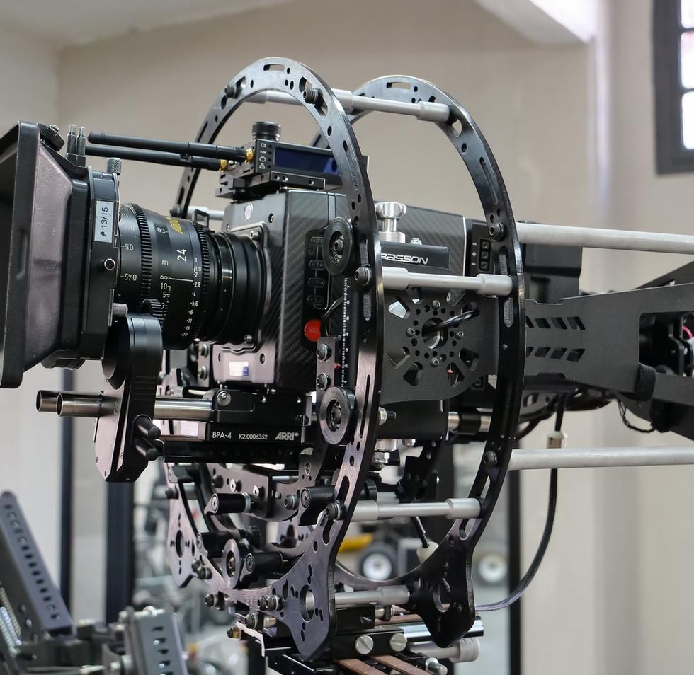 Arri alexa mini rotary head hybrid steadycam Endless 3 Basson Steady camera stabilizer