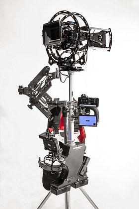 Hybrid Steadycam Basson Steady Camera Stabilizer model Endless, 45 degree view