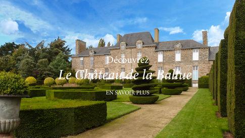 Chateau et jardins de la Ballue