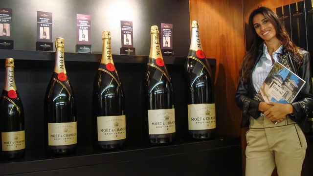 Maison Chandon, Epernay France Champagne region, cellars