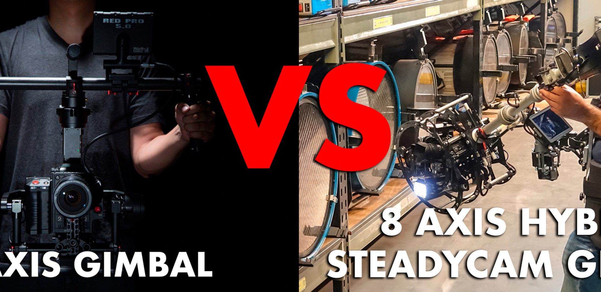 steadicam vs gimbal vs hybrid steadycam Basson Steady camera stabilizer