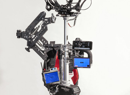 Basson Steady New Products Just Released ENDLESS 3, hybrid electro-mechanic camera stabilizer, stead