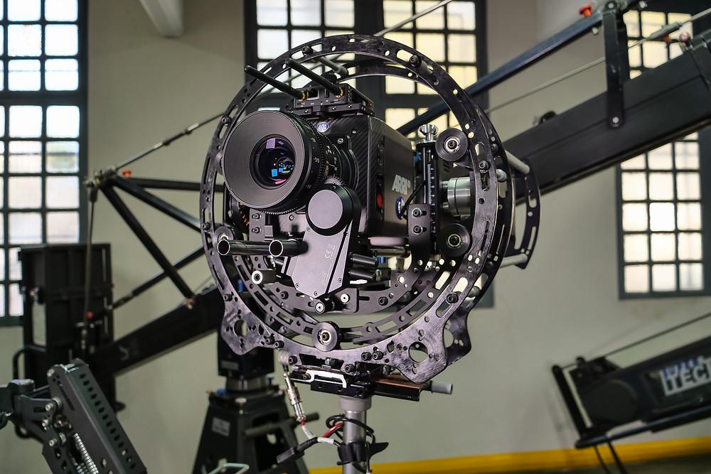 New 8 axis hybrid camera stabilizer Basson Steady model Endless 3 vs arri trinity with alexa mini