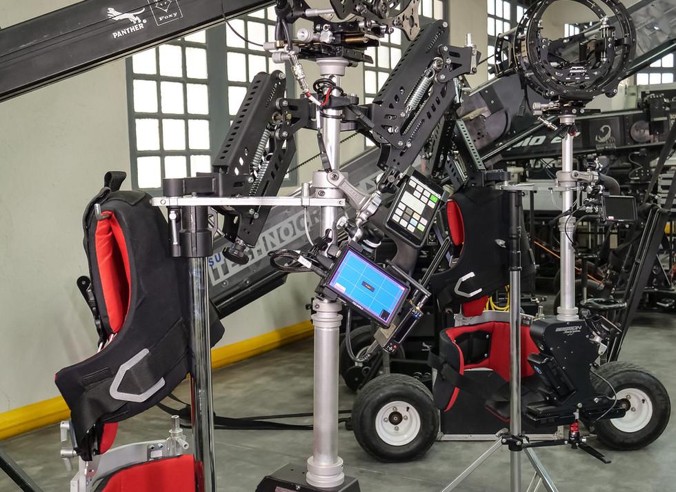 Hybrid Steadycam with Arri alexa mini & hybrid steadycam Endless 3 Basson Steady camera stabilizer