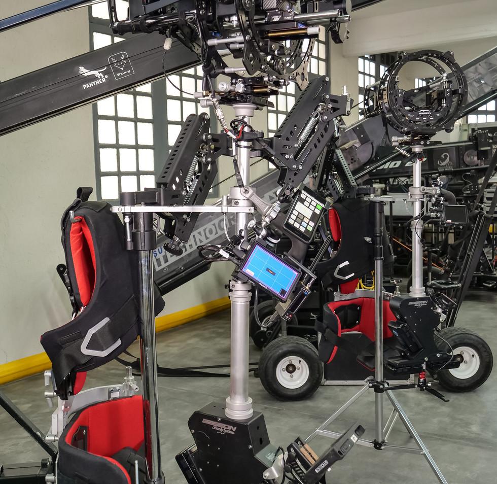 Arri alexa mini & hybrid steadycam Endless 3 Basson Steady camera stabilizer
