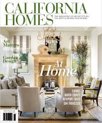 MAGAZINE CALIFORNIA HOMES