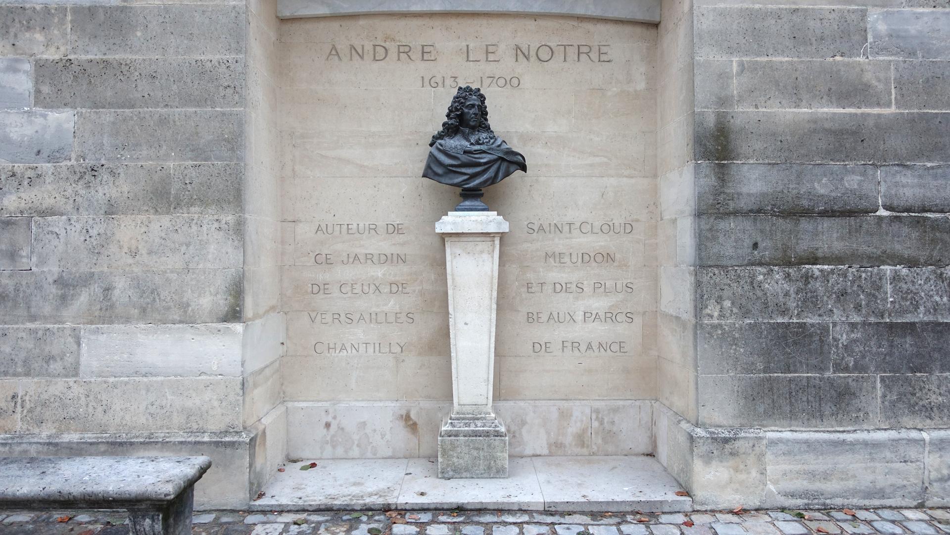 Andre Le Notre, creator of the origi