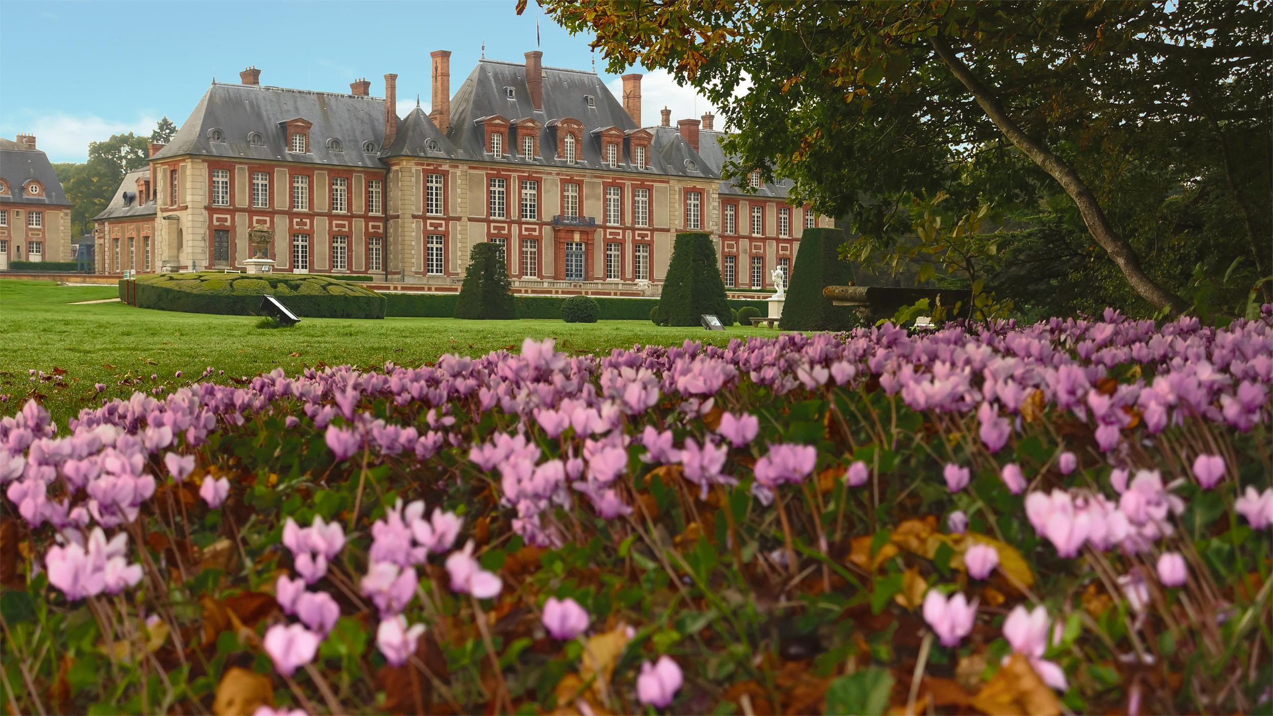 French garden, french formal garden