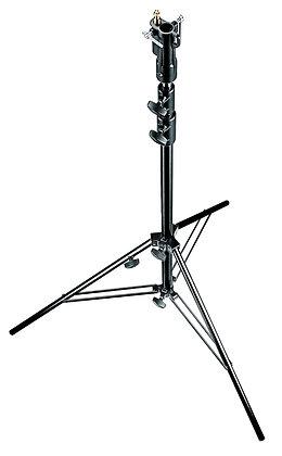 Manfrotto 007BU Black Aluminum Senior Stand pesa 3kgs soporta 12kgs diam 118cm