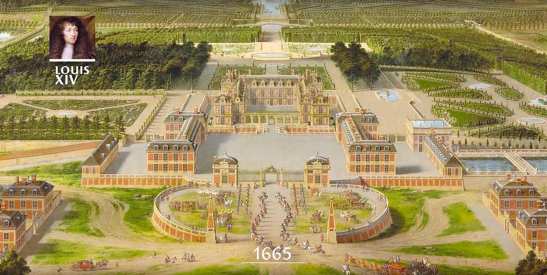 Chateau de Versailles, Versailles pl