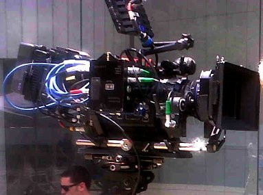 Steadycam Basson Steady camera stabilizer with digital cinema camera, customer photo