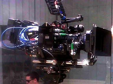 Steadycam Basson Steady camera stabilizer with digital cinema camera, customer photo