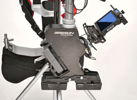 Basson Steady  New releases HYBRID READY steadycam camera stabilizers, compatible with rotary head