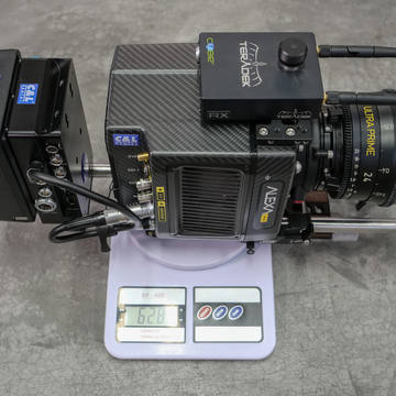 Arri Alexa mini digital cinema camera weight