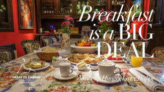 Haras de Charme boutique Hotel, Breakfast is a big deal