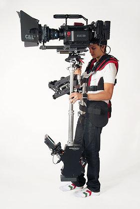 Silverarrow Pro 6, Basson Steady Camera stabilizer, max payload 12,8kgs