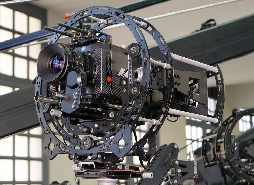 Hybrid Steadycam with carbon fiber Arri alexa mini on the hybrid steadycam Endless 3 Basson Steady camera stabilizer