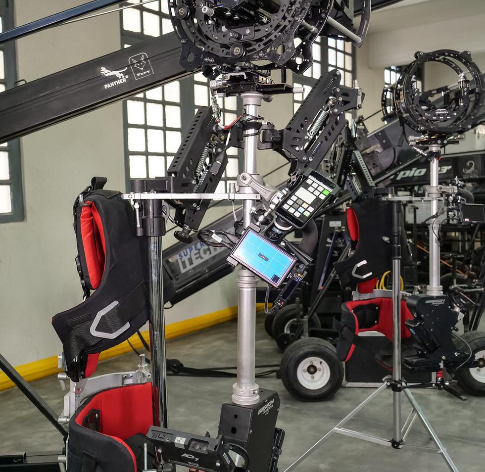 Arri alexa mini plus hybrid steadycam Endless 3 Basson Steady camera stabilizer