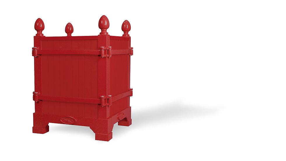 Rouge Château du Champ de Bataille, Versailles planter - Planter boxes