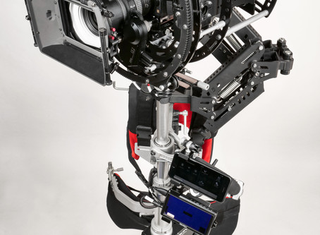 Basson Steady more New Products INFINIA 3, hybrid electro-mechanic camera stabilizer, steadycam gimb