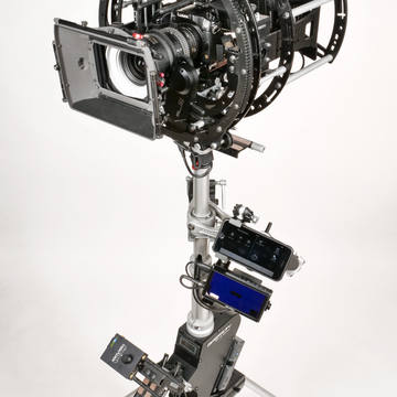 Infinia hybrid gimbal rotary head from Basson Steady