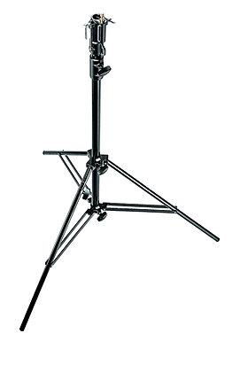 Manfrotto 008BU Black Aluminum Cine Stand pesa 4,2ks soporta 15kgs diam 118cm