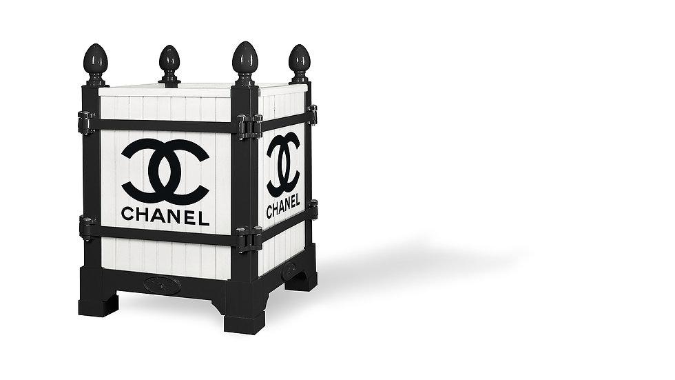 Branding ideas, Noir & blanc, Coco Paris, Versailles planter - Planter boxes