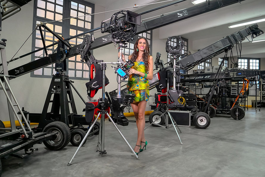 steadycam hibrido endless con red camera