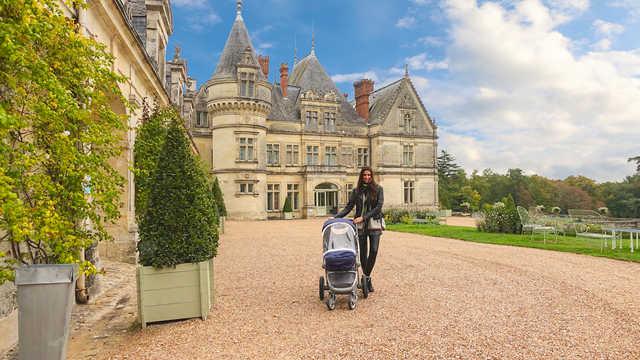 Chateau de la Bourdaisiere, Montlouis-sur-Loire, in the Indre-et-Loire