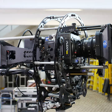 Arri Alexa mini digital cinema camera on Hybrid Endless and Infinia from Basson Steady